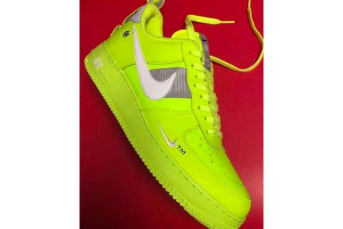 "Nike Goes Fluorescent Yellow With the Air Force 1 Low ""Tennis Ball"""