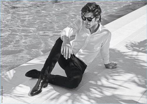 Vinnie Woolston Stars in Yves Saint Laurent L'Homme Cologne Bleue Fragrance Campaign