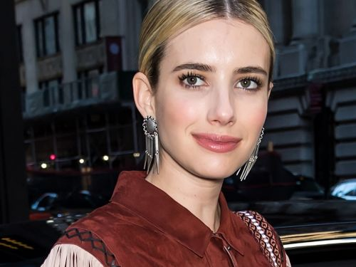 Emma Roberts Wins Best Winter Hair Color With A Fresh Brunette Shade