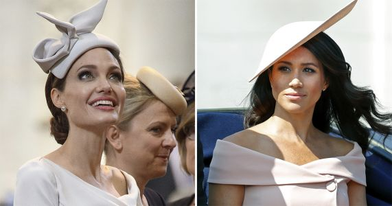 Angelina Jolie Channels Meghan Markle's Elegant Style for Royal Event