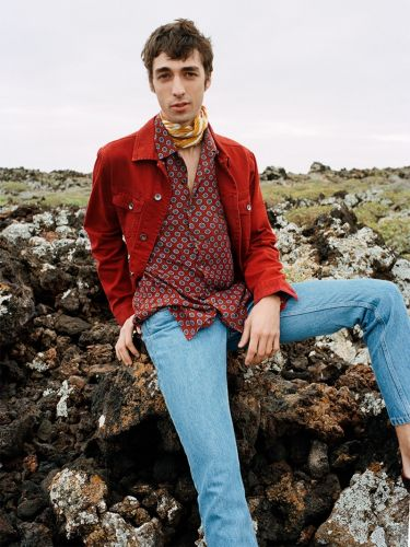 Baptiste Zysman Rocks Reserved Spring '19 Denim Collection