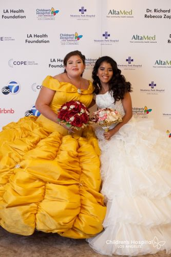 CHLA Gave Two Patients Their Dream Quinceañera