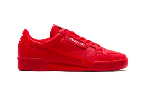 "Atmos Taps adidas for Exclusive Continental 80 ""Scarlet"""