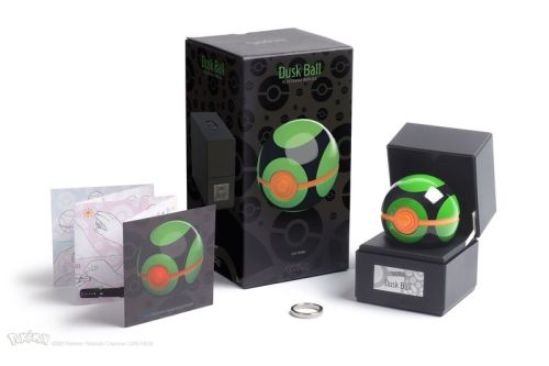 The Wand Company and Zavvi Join Pokémon for Electronic Die-Cast Dusk Ball Replica