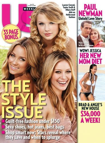 TBT: When Taylor Swift Shared a Cover With Hilary Duff and Lauren Conrad