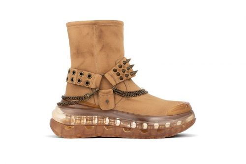 SHOES 53045 Drops $500 USD Western-Tinged EASY RID'AIR Boot