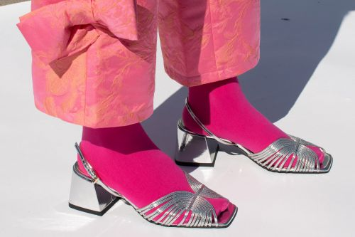 Chunky 'grandma' heels are now hotter than 'dad sneakers'