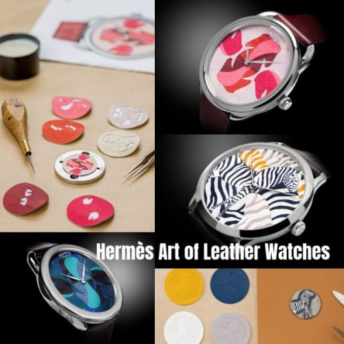 Hermès Art of Leather Watches