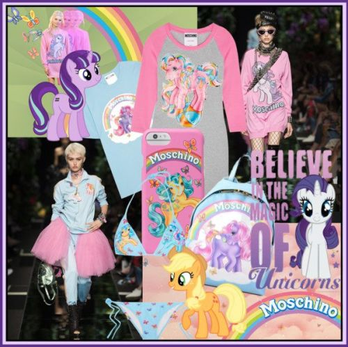 Moschino x My Little Pony Capsule Collection
