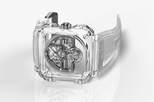 Bell & Ross Focuses on Absolute Transparency for the BR-X1 Skeleton Tourbillon Sapphire