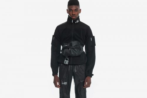 HELIOT EMIL Shows Off Technical Magnetic Cargo Pants