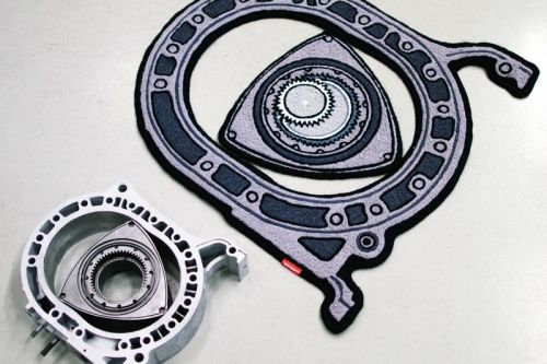 Copaze's Latest Air Freshener and Rug Release Celebrates the Rotary Engine
