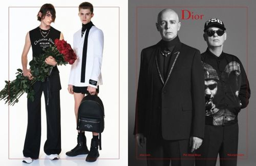 The Pet Shop Boys are the new faces of Dior Homme