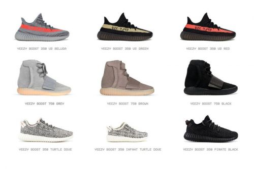 Kanye West Launches Digital YEEZY Sneaker Archive