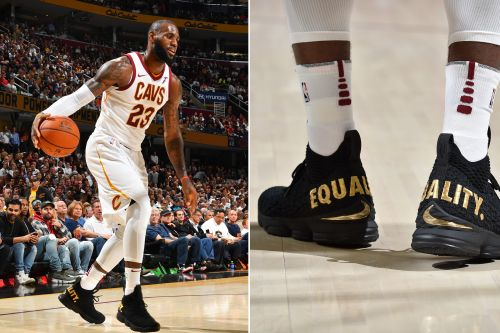 People are reacting strongly to LeBron's 'equality' shoes