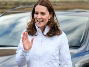 Pregnant Kate Middleton Just Broke A Style Rule While Showing Off A Bigger Bump