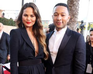 Chrissy Teigen Shares Her Growing Baby Bump On Social Media