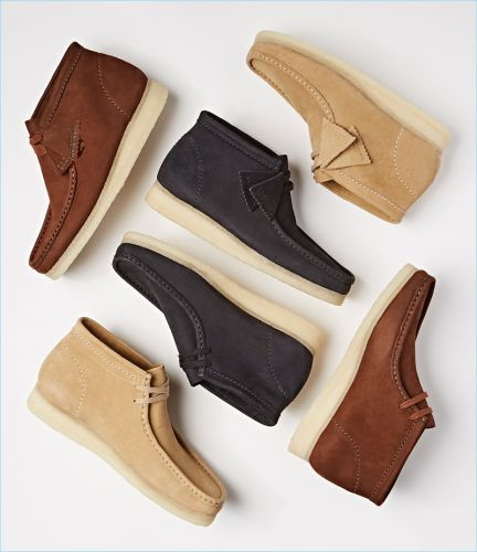 Clarks Collaborates with Barneys for Exclusive Wallabee Boots