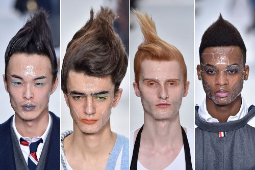 Troll dolls inspire a hair-raising new style trend for men
