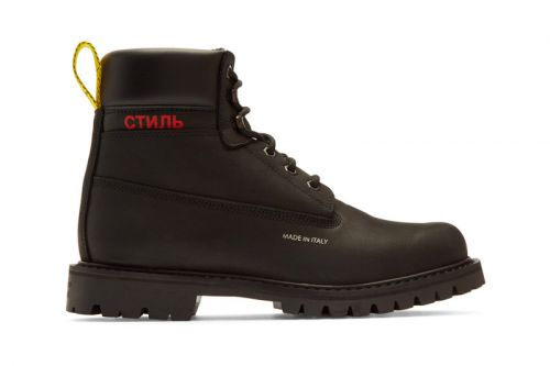 These Rugged Heron Preston FW18 Boots Have Now Hit Shop Shelves