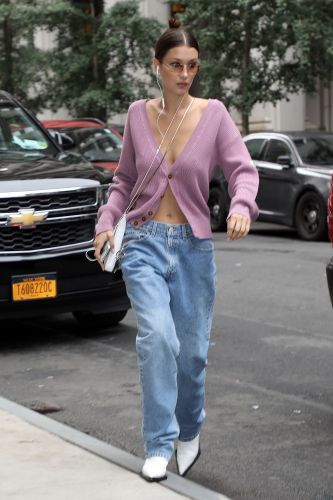 Here's How Celebrities Are Wearing This Year's Biggest Jean Trend