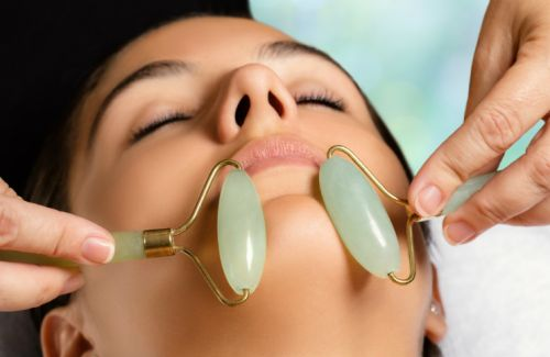 How The Ancient Practice Of Jade Rolling Made Its Way Into Today's Skincare Routines