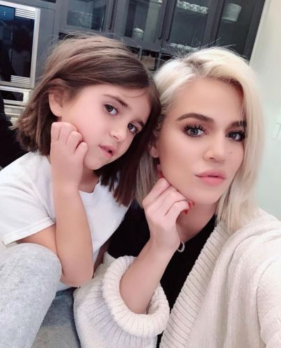 Penelope Disick Brings Aunt Khloé Kardashian Fruit Because She's Sick and It's the Sweetest Thing