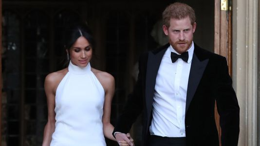 Meghan Markle Stuns in a Second, Sexy Evening Dress Designed by Stella McCartney