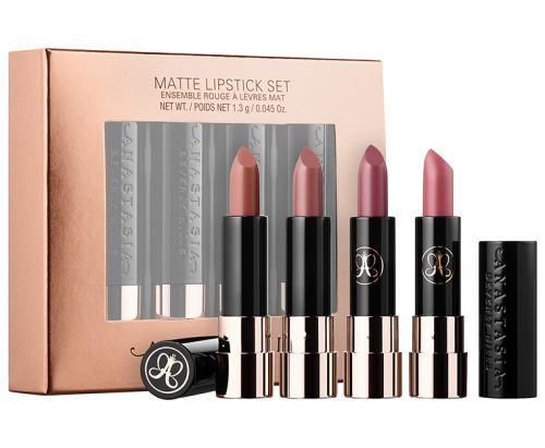Anastasias Nude Matte Lipstick Set Now Available