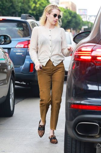 "Emma Roberts Can't Stop Wearing This ""Ugly"" Heel Trend"