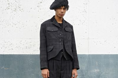Nicholas Daley Goes All-Black Everything for 2017 Fall/Winter 'Blackwatch' Collection