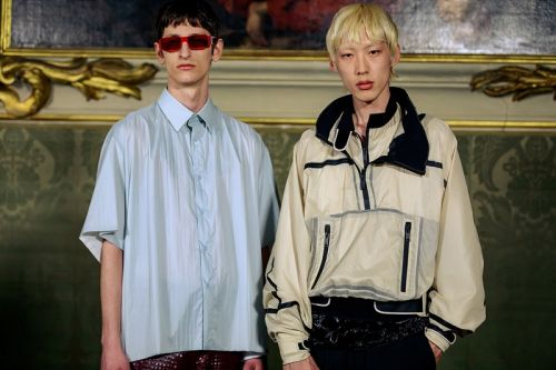 Givenchy Takes Inspiration From Korean Street Culture for Suit-Filled SS20
