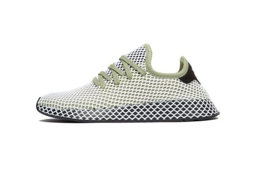 Adidas Originals' Deerupt Surfaces in Green