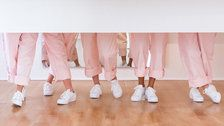Here's Where To Buy The Millennial Pink Glossier Jumpsuit