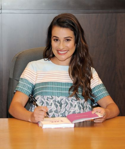 There's a Hella-Rude Conspiracy Theory That Lea Michele Is Illiterate