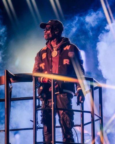 Fans are hospitalised by a stampede at Travis Scott's Astroworld festival