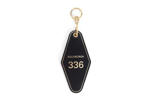 Balenciaga's FW18 Hotel Key Tag Is Now up for Grabs