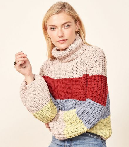 Reformation's New Sweaters Are Made From 100% Recycled Italian Yarn