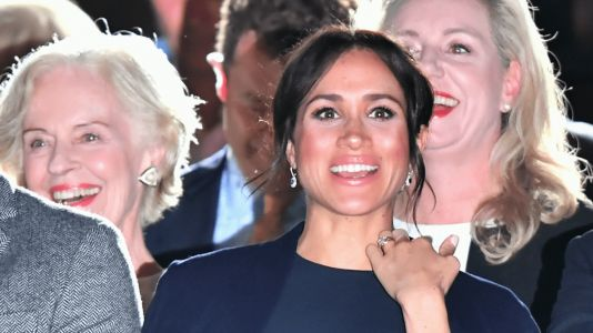Meghan Markle Wears Navy at Invictus Games Opening Ceremony - and Prince Harry Matches