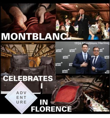 Montblanc Celebrates Adventure in Florence