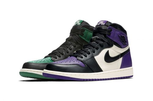 "ICYMI, the Air Jordan 1 ""Pine Green"" and ""Court Purple"" Are Available at Stockx"