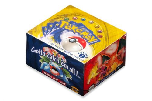 An Unopened Box of 'Pokémon' Cards From 1999 Sold for $56K USD