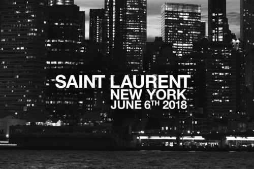 Livestream Saint Laurent's Spring/Summer 2019 Runway Show