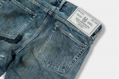 "NEIGHBORHOOD Releases Limited ""GRITTY SAVAGE"" Denim Jeans"