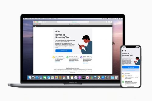 Apple Introduces COVID-19 Screening App & Website Built on CDC Guidelines