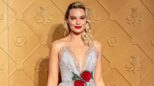 Margot Robbie Kicked Off the 'Mary Queen of Scots' Press Tour in Dreamy Rodarte