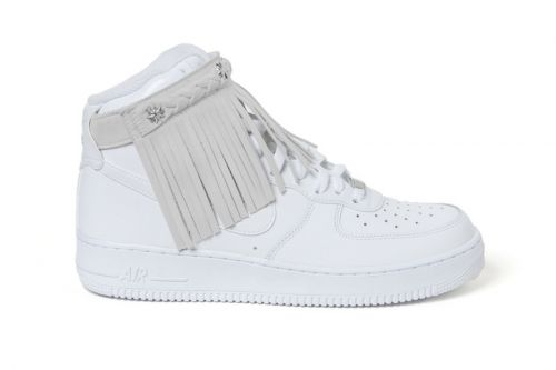 Sacai Unveils New Moccasin Fringe Nike Air Force 1 Model & Hybrid Apparel