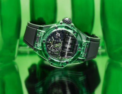 Hublot Unveils Innovative Green Big Bang MP-11