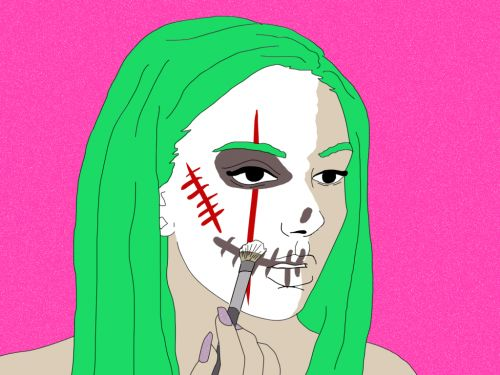 How to get rid of your heavy Halloween makeup without wrecking your skin