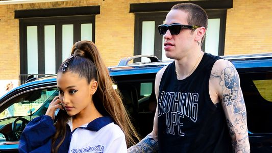 Pete Davidson 'Wasn't The Right Person' To Be Around Ariana Grande After Mac Miller's Death, Report Says